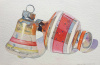 Vintage Ornaments: 1950s Stripes