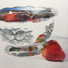 Embossed Bowl with Strawberry
