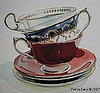 Three Aynsley Teacups