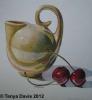 Tiny Dryden Jug with Cherries