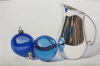 Vintage Ornaments Creamer with Blue